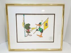 Warner Bros. Limited Classic Animations Duck Dodgers In The 24th Century Artwork