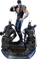 Fist Of The North Star Hokuto No Ken Kenshiro Deluxe Statue First 1 Sideshow