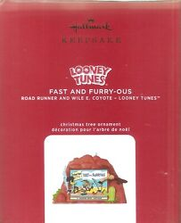 2020 Hallmark Ornament Fast and Furry ous Looney Tunes