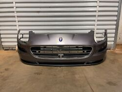 2005-2007 Maserati Coupe Gt Front Bumper Cover Panel W/ Center Grill Grille Oem