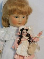 R. John Wright Emily The Enchanted Doll 36/150 Mib For The Enchanted Doll House