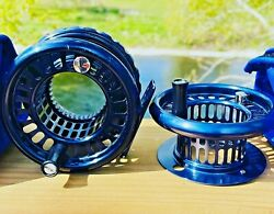 Rare Loop Hi Tec Lhw Model 2 Trout Fly Reel And Spare Spool With Makers Cases