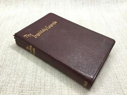 1905 Antique Leather Bound Book The Ingoldsby Legends Oxford University Press