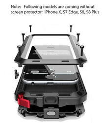 Metal Heavy Duty Rugged Builder Shockproof Military Case Cover For Mobile Phone