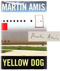 Martin Amis / Yellow Dog Signed First Edition 2003 103263