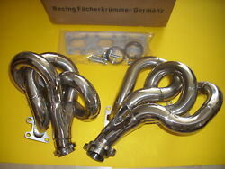 Mercedes S-w/v 140 S 320 With M 104 Engine Stainlees Steel Header Manifold New