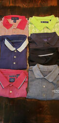 Oxford Golf In Lot Of 3 Golf Performance Shirts Dockers, Arrow And Oxford Shirts