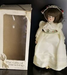Vintage 1984 Gorham The Gift Of Friendship Peace Doll G3111