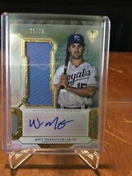 Whit Merrifield 2018 Triple Threads