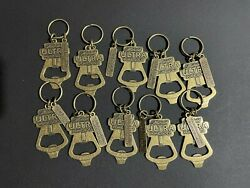 Lot Of 10 - Michelob Ultra Pure Gold Bottle Opener Keychain