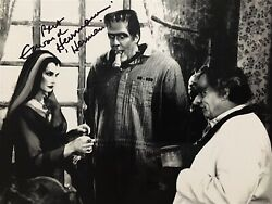 Edward Herrmann / Here Comes The Monsters / Herman Munster / Signed Photo 1