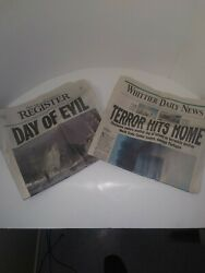 September 11 2001 Newspapers Oc Register And Whittier Daily Newspaper 9/12/01