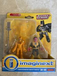 Imaginext Cheetah And Sinestro New Sealed Justice League Set