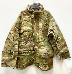 Us Army Issue Apec Gen Ii Gore Tex Multicam Cold/wet Weather Parka - Large Short