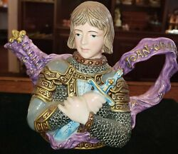 Joan Of Arc Fitz And Floyd Teapot