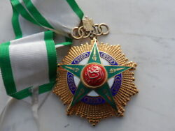 1955 Egypt Order Of Sport Grand Cross Badge Medal First Class With Ribbon