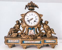 Antique Japy Freres French Clock C 1830