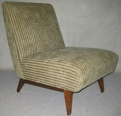 Jens Risom Design  U-421 Low Sidechair Excellent Condition, Style And Comfort