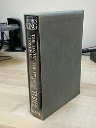 Stephen King The Dark Tower Drawing Of The Three Grant S/l Slipcase Only