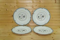 Royal Doulton Old Colony 4 Dinner Plates | Discontinued | England