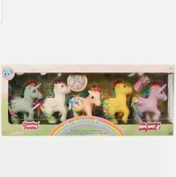 New My Little Pony Classic 35th Anniversary Rainbow Collector Gift Set 5 Ponies