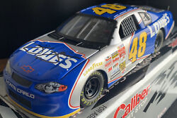 Jimmie Johnson Signed/autographed 48 Lowes 2002 Chevy Ss Lrg Die Cast Race Car