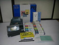 Riso Print Gocco Pg-11 Screen Printing Machine Used 10lamps 5masters And More