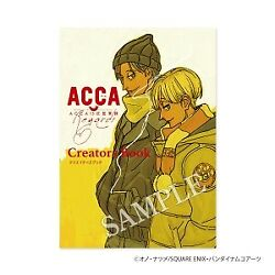 Acca 13-territory Inspection Dept Anime Creators Book Mad House Natsume Ono Jp