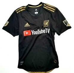 Adidas Los Angeles Lafc Mls 2018 Vela 10 Away Soccer Jersey New Kids - Youth