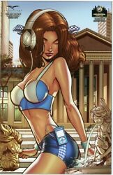 Grimm Fairy Tales Oz Reign Witch Queen 1 Wizard World Philly Con Comic 2015 Nm