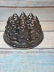 Nordic Ware Holiday Tree Bundt Cake Pan Mold Christmas 10 Cup Made In Usa