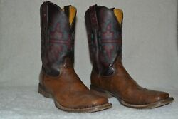 Tin Haul Wild Rose Womens Boots Style 121878 Size 9 1/2
