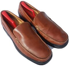 Cole Haan Air Mens 13 M Driving Canoe Moccasins Loafers Shoes Brown Leather