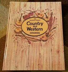 Reader's Digest Country And Western Songbook Spiral Bound Hank Williams 1940-50-60