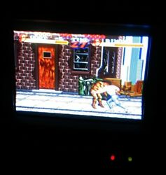 1980and039s Rca Victor Mini Portable Crt Tv Color Tube Television - Japan Made Rare