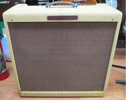 Fender And03959 Bassman For Electric Guitar Amp Vacuum Tube Solid Pine