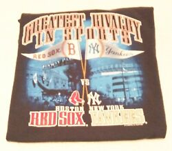 Boston Red Sox New York Yankees Mens Large Tshirt Greatest Rivalry In Sports