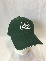 Pioneer Dupont Seed Menand039s Green Cotton Hook And Loop Baseball Hat Cap