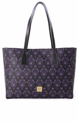 Dooney And Bourke Haunted Mansion Wallpaper Tote Bag New Limited Edition