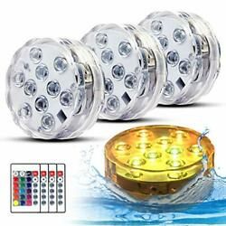 Swimming Pool Lights For Bathtub Fountain Hot Tub Waterproof Pond Light With Set