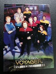 Star Trek Voyager Closer to Home Promo Card Skybox
