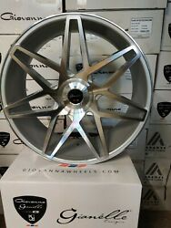 26 Gianelle Parma Wheels Silver/machined Rolls Royce Range Rover Chevy 5x120