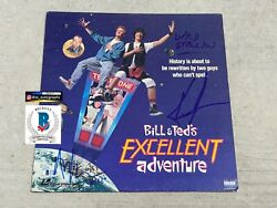 Bill And Ted Signed Laserdisc Keanu Reeves Signed Beckett Bas Coa