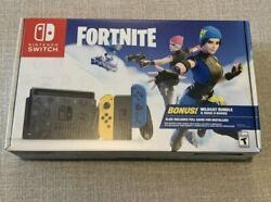 New Nintendo Switch Console Fortnite Special Edition Wildcat Bundle 2day Ship🚚