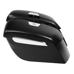 Matte Black Hard Saddlebags Fit For Indian Chieftain Limited 19-20 Challenger 20