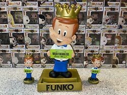 Funko Freddy Wacky Wobbler Figure + 2 Other Figures Statue