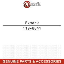 Exmark 119-8841 50 Inch Deck With Decal Assembly Quest E Series