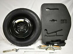 10-13 G37 Sedan T145/80d17 Compact Spare Tire With Jack And Tool Set W/ Foam F5505