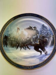 Nathan Bedford Forrest The Gallant Men Of The Civil War Plate