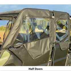 Can-am Defender Max Soft Doors By Over Armour Offroad